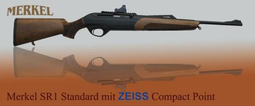 Merkel SR1 Standard mit Zeiss Compact Point