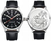 Swiss Timer Uhr, KLAVINIUS, Limited Edition 2015