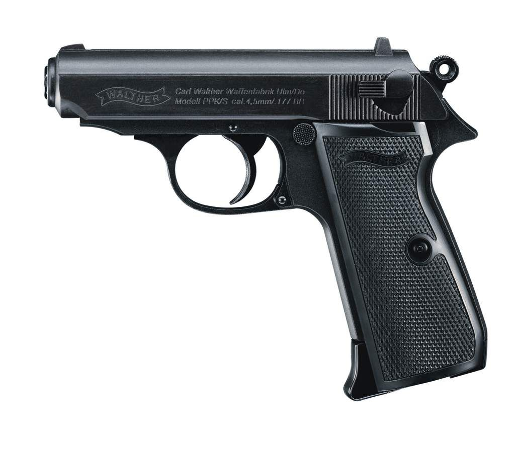 Walther PPK/S 4,5 (.177) BB